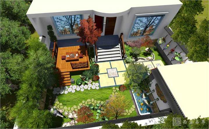 小型院子设计效果图