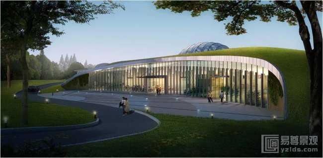 生态旅游养生酒店建筑规划设计案例欣赏