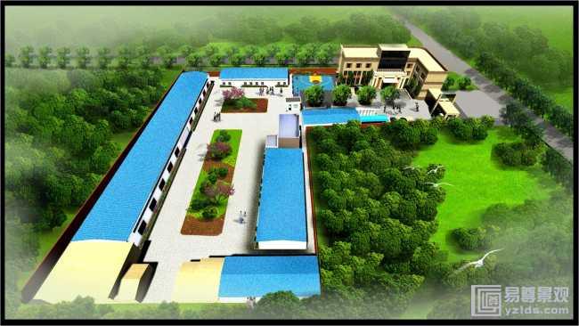 小型景观案例-西安景观设计公司,景观规划设计,园林