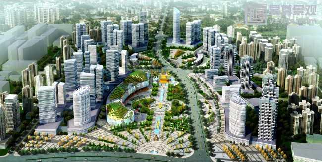市政工程案例-西安景观设计公司,景观规划设计,园林